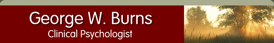 George Burns, Clinical Psychologist